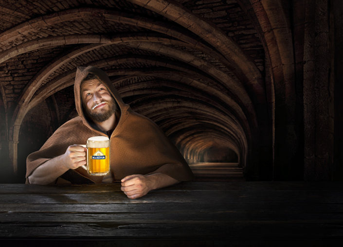 Postproduction of photography for klášter advertisemen - final photo- Michal Kozák