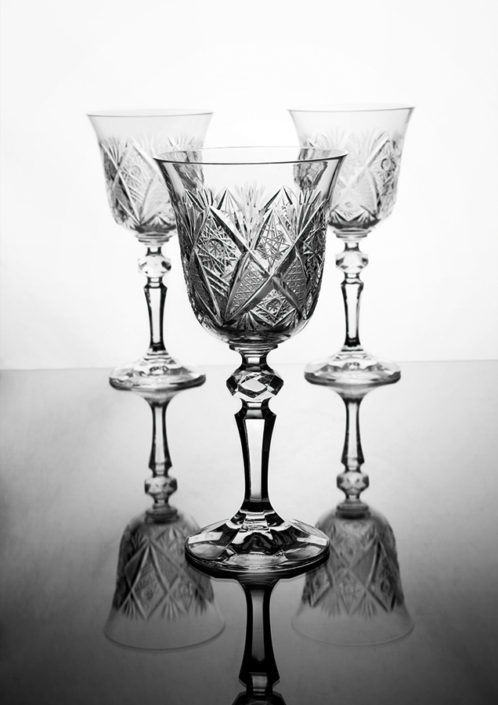 grinded glass set Michal Kozák
